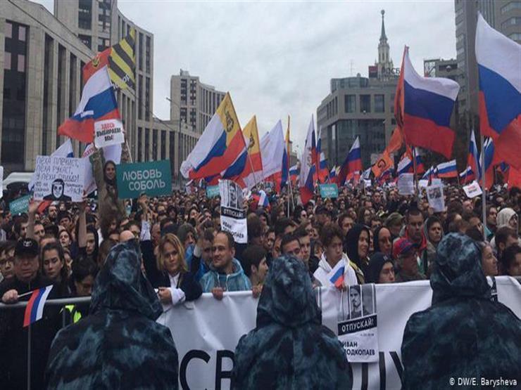 انطلاق تظاهرات جديدة في موسكو اليوم بعد شهر من احتجاجات المعارضة