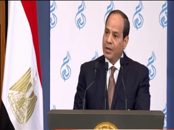 فيديو.. الرئيس: حان الوقت ليتحول الاقتصاد المصري إلى المعرفة
