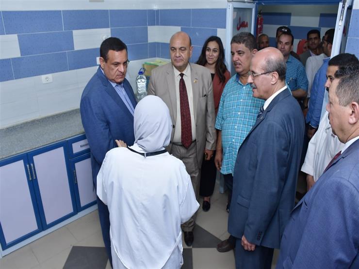 محافظ البحيرة يتفقد أعمال تطوير مستشفى الرحمانية