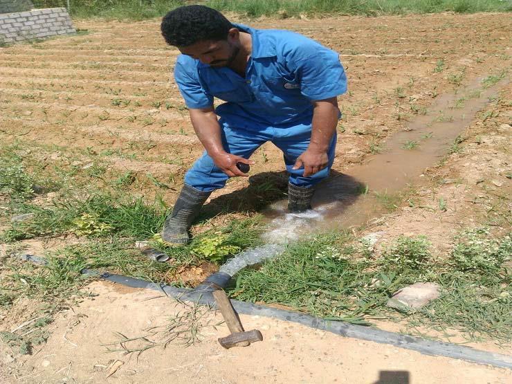 حملة بالإسماعيلية لضبط مخالفات عدادات المياه