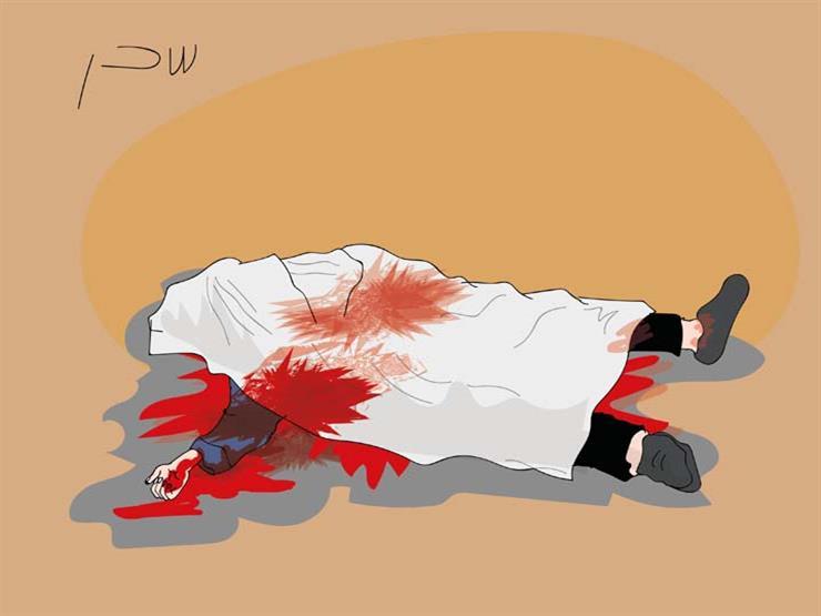 """""""كنت عايز أخلص من الديون"""".. المتهم بقتل تاجر جمال الهرم يمثل جريمته"""