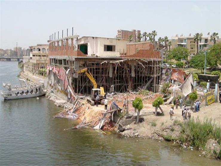"""""""الري"""": إزالة 53 حالة تعدٍ على نهر النيل في 4 محافظات"""