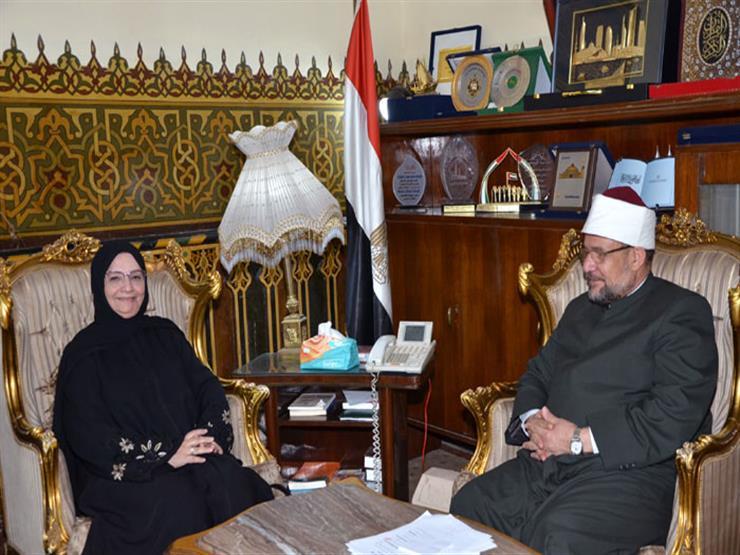 وزير الأوقاف يستقبل مدير المكتب الكويتي للمشروعات الخيرية بالقاهرة