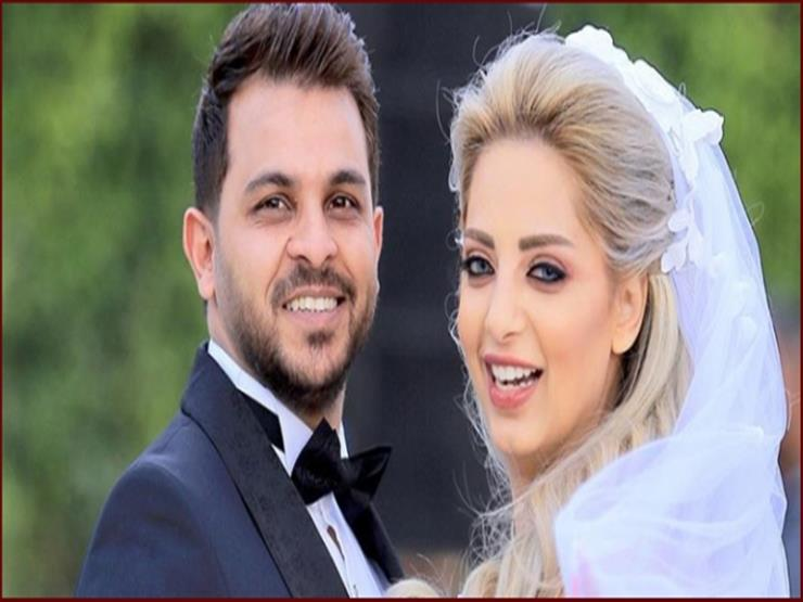 زوجة المطرب محمد رشاد تعلن حملها بهذه الطريقة