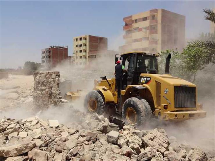 تنفيذ 426 قرار إزالة لتعديات على الرقعة الزراعية وأملاك الدولة ونهر النيل