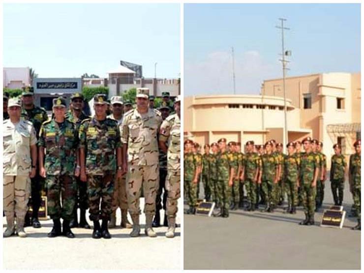 """عناصر من القوات المسلحة تغادر إلى روسيا للمشاركة بـ""""حماة الصداقة - 4"""""""