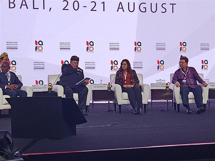 محافظ دمياط تشارك في جلسات الحوار الإندونيسي الإفريقي للبنية التحتية