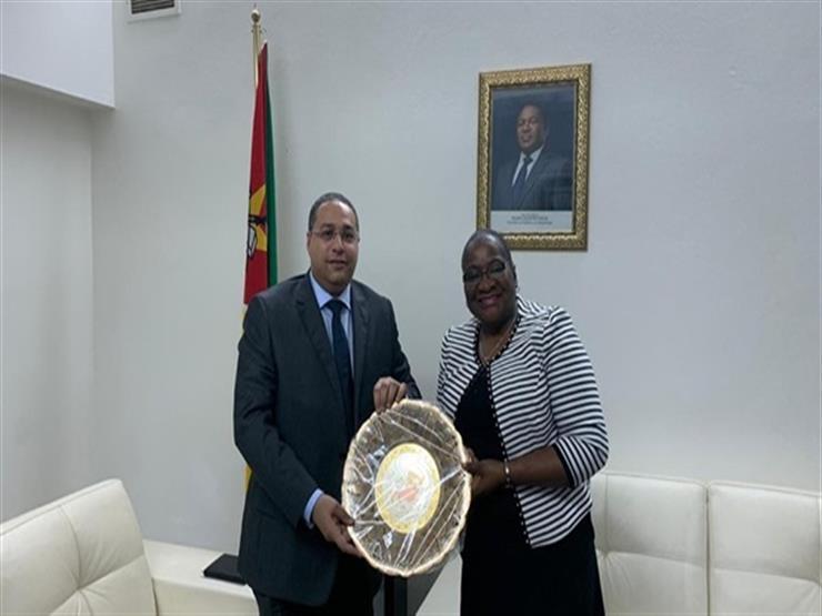 سفير مصر لدى موزمبيق يبحث مع رئيسة البرلمان تعزيز التعاون بين البلدين