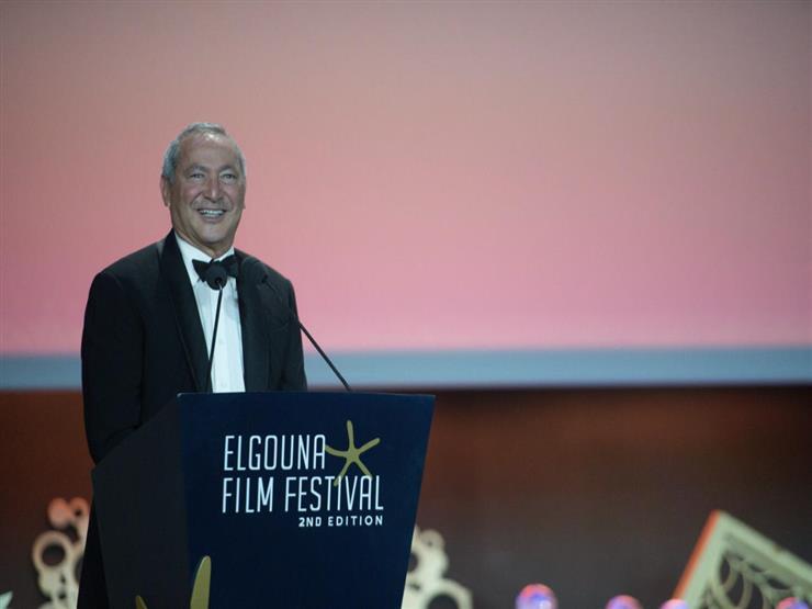 """سميح ساويرس: """"الجونة السينمائي منصة لرعاية المواهب المصرية وتقديمها للعالم"""""""