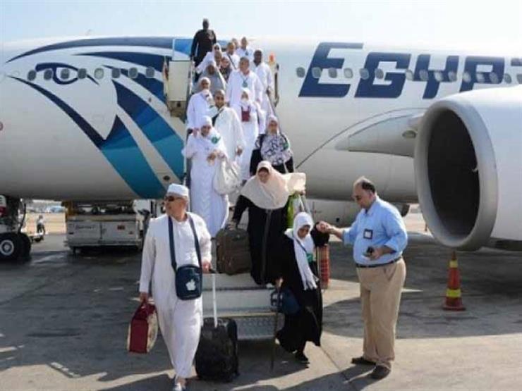 بدء الفحص الطبي للحجاج العائدين من الأراضي المقدسة بمطار برج العرب