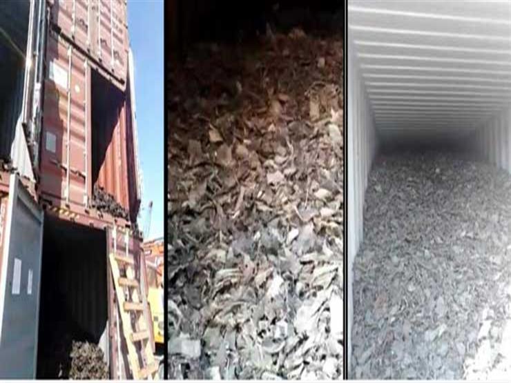 إحباط تهريب 80 طن من النفايات الخطرة للبلاد عبر ميناء الإسكندرية