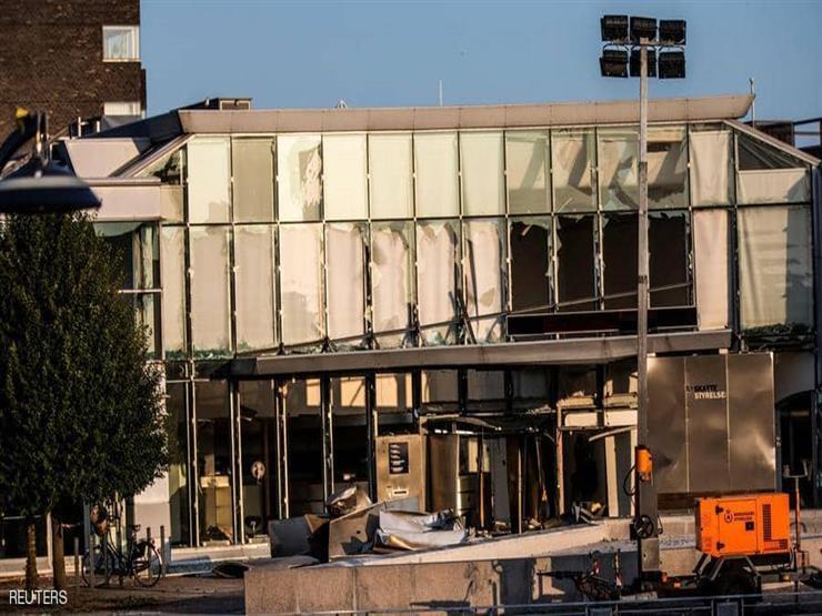 السويد: القبض على رجلين في تفجير مبنى الضرائب في الدنمارك