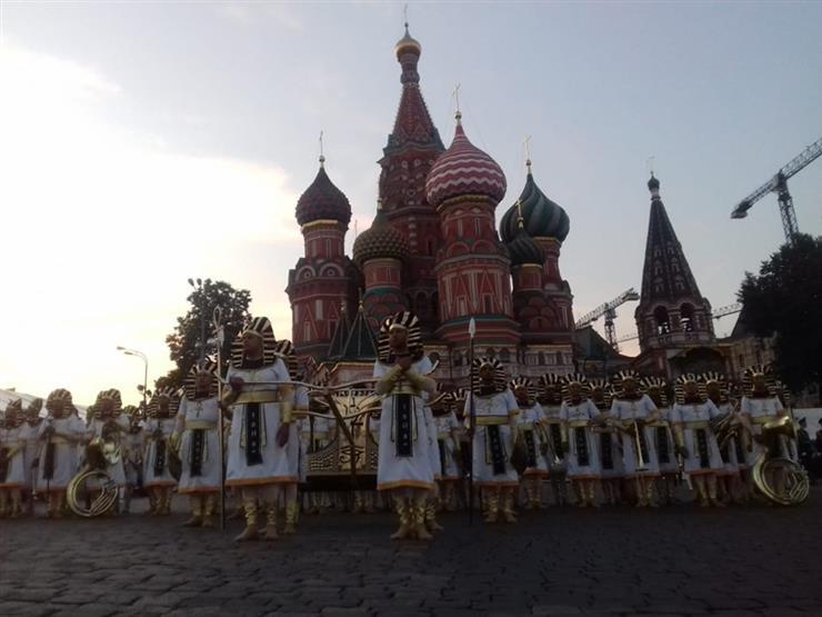 مصر تشارك في مهرجان الموسيقات العسكرية بالساحة الحمراء في موسكو