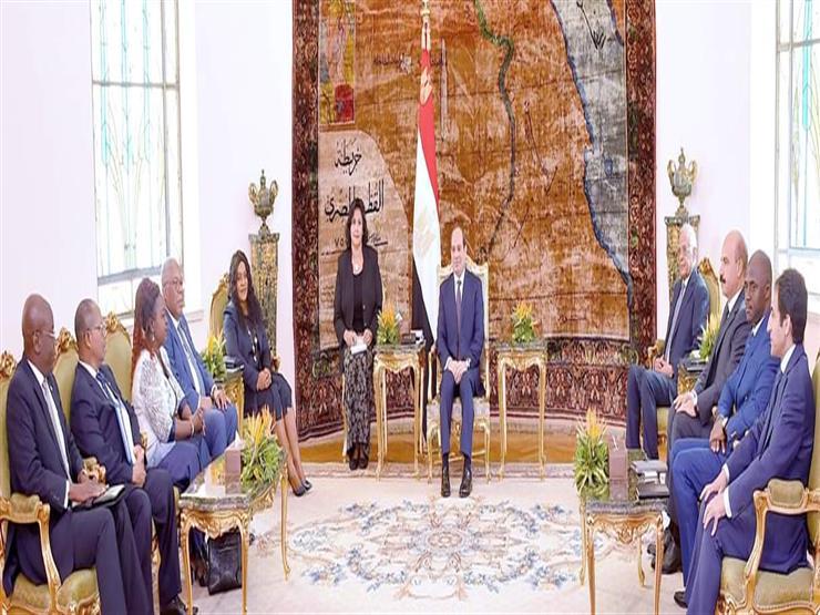 السيسي يؤكد مساندة مصر لجهود التنمية في توجو وتعزيز التبادل بين البلدين