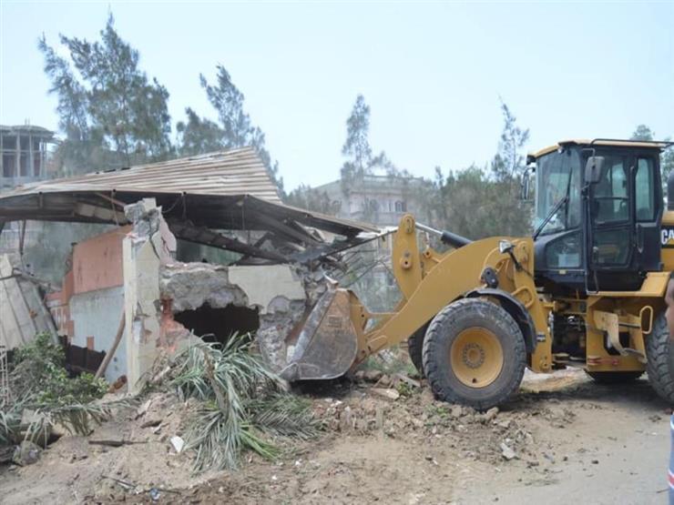 """""""الري"""": إزالة 9 حالات تعدٍ على نهر النيل في ثلاث محافظات اليوم"""