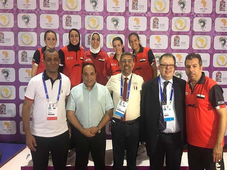 تنس الطاولة سيدات تضيف ذهبية جديدة لمصر بدورة الألعاب الأفريقية