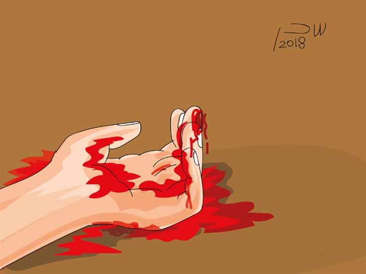 """نجار يمزق جسد زوجته وعشيقها بالساطور:""""لقيت جاري عريان في الدولاب"""""""
