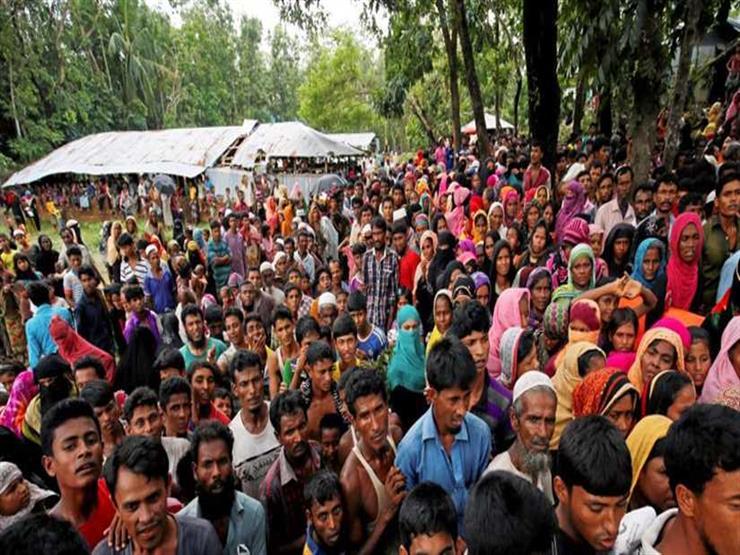 مظاهرة للروهينجا ببنجلاديش لإحياء الذكرى الثانية لفرارهم من ميانمار