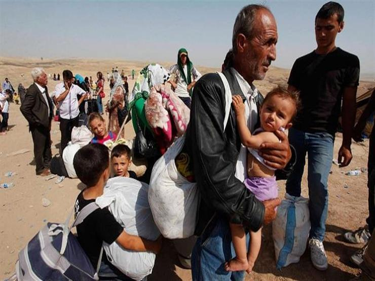 """""""نعيش حياة قاسية هنا"""".. نازحون عراقيون يضطرون للعودة إلى المخيمات"""