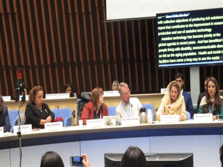 """""""القومي للمرأة"""" يستعرض مع سيدة باكستان الأولى تجربته في دمج ذوي الإعاقة"""