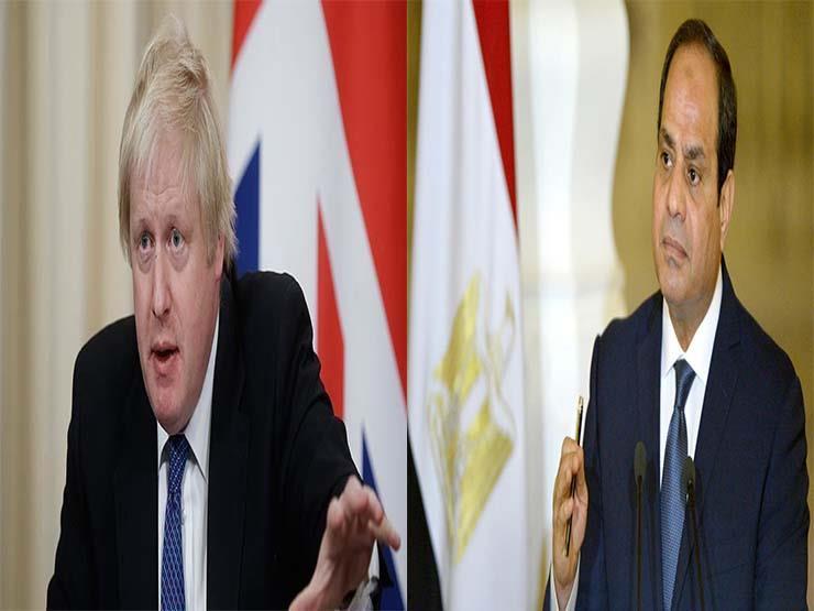 السيسي يتفق مع رئيس وزراء بريطانيا على تكثيف جهود التصدي للإرهاب