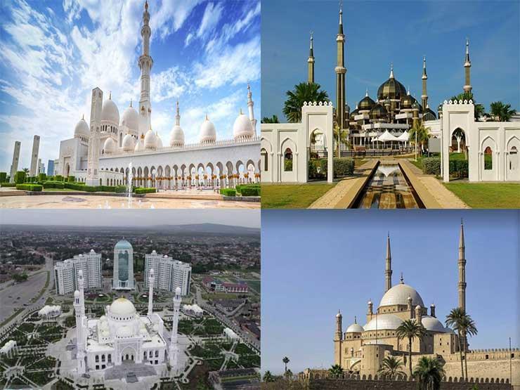 بالصور| تعرف على أجمل 7 مساجد حول العالم