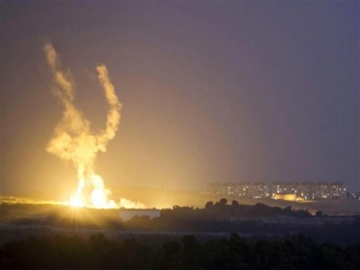 """طائرات إسرائيلية تقصف موقعًا لـ""""حماس"""" في قطاع غزة دون وقوع إصابات"""