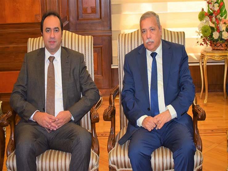 رئيس النيابة الإدارية يستقبل نائب وزير التعليم