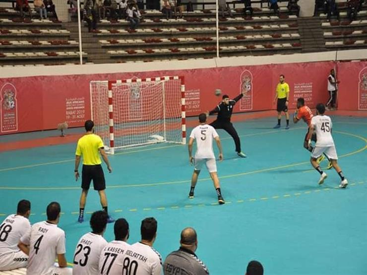 يد مصر تخسر من أنجولا وتكتفي بفضية دورة الألعاب الإفريقية