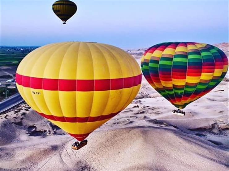 رئيس الشركة المصرية للمطارات يتفقد موقع إقلاع البالون بالأقصر