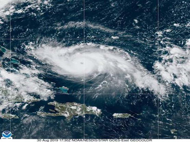 قوة إعصار دوريان ترتفع للفئة الخامسة