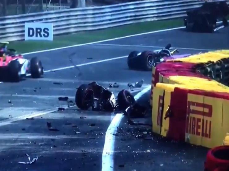 بالفيديو.. حادث مروع يودي بحياة السائق الفرنسي هوبرت خلال سباق فورمولا-2