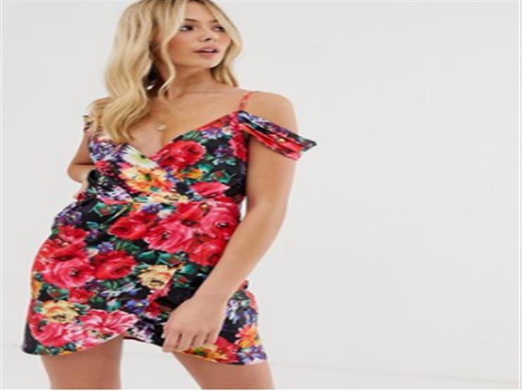 فستان الصيف.. ميني منقوش بالزهور