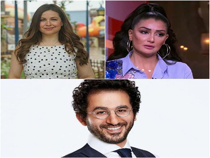 بينهم غادة عبدالرازق.. هكذا هنأ النجوم أحمد حلمي على فيلمه الجديد