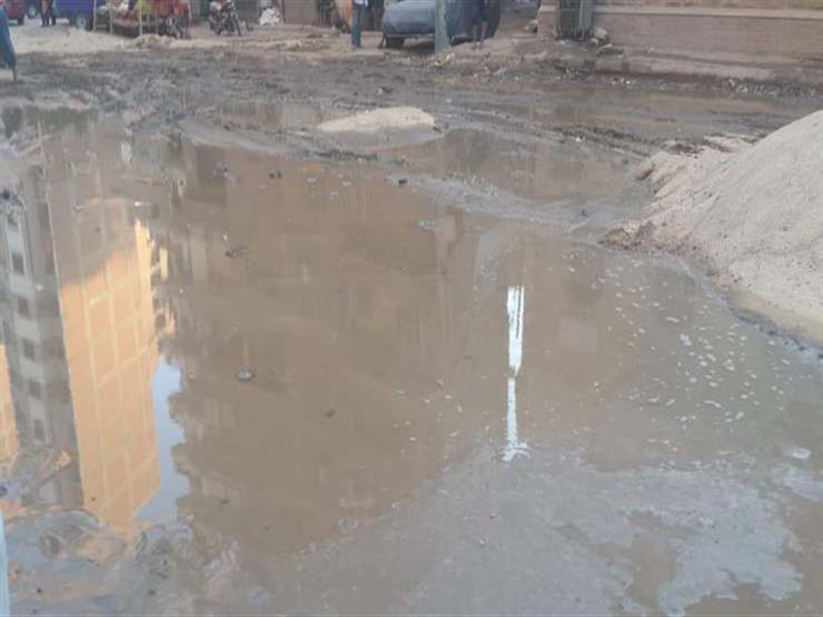 انقطاع المياه عن مدينة الفيوم بسبب كسر في الخط الرئيسي