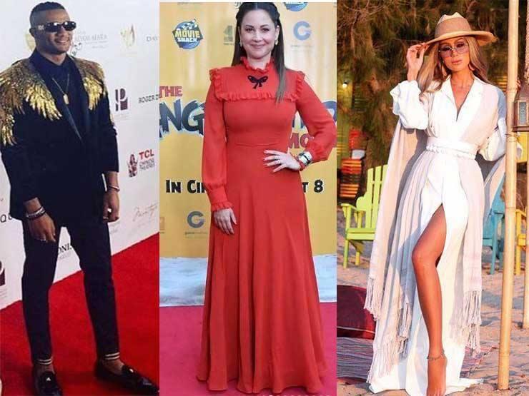 نشرة الموضة| درة بفستان من الحرير ومايا دياب بإطلالة عصرية باللون الأبيض