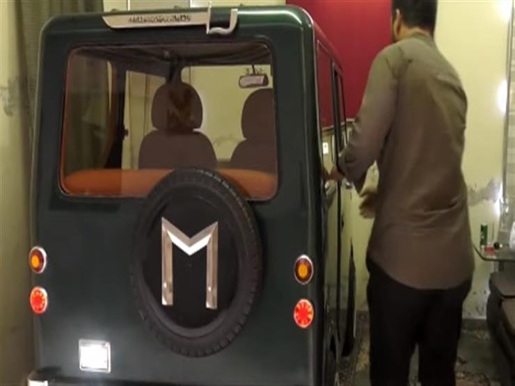 لأول مرة في باكستان.. سيارة مصنوعة يدوياً بالكامل