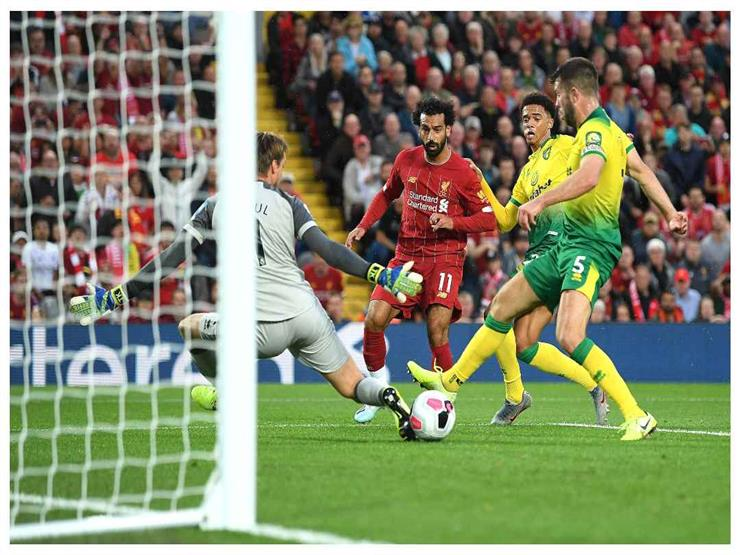 صلاح يواصل هوايته بالتسجيل في الجولة الأولى مع ليفربول