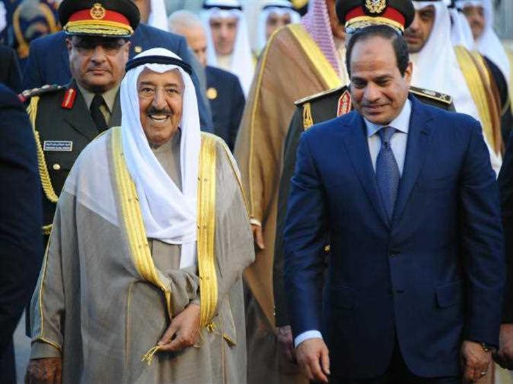 """""""يزورنا رجل شجاع"""".. كيف احتفى أهل الكويت بزيارة السيسي؟"""