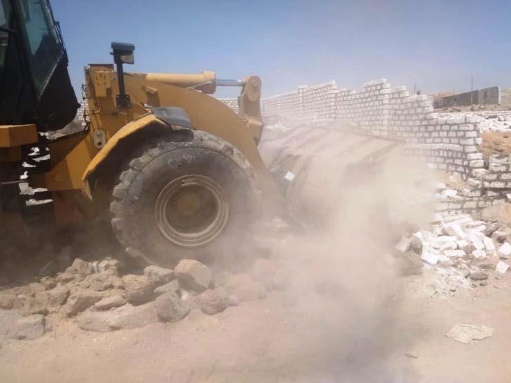 الداخلية: إزالة 77 ألف متر تعديات على أملاك الدولة بـ 3 محافظات