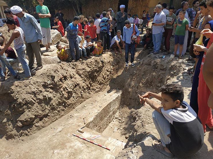 """""""الآثار"""" تكشف عن تفاصيل الكشف الأثري بسوهاج"""