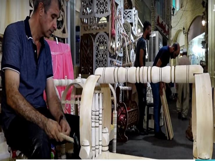 بالفيديو ..تعرف علي صناعة المهد الكرد في أربيل منذ 100 عام