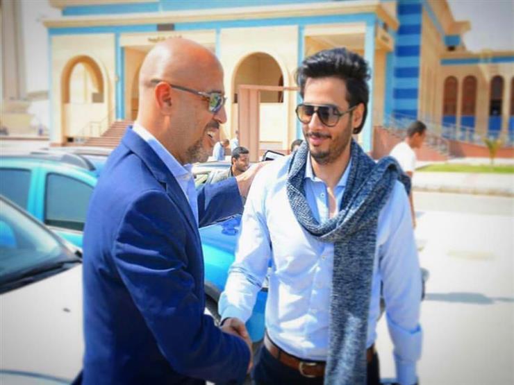 حامد الشراب يهنئ أشرف عبدالباقي بعيد ميلاده