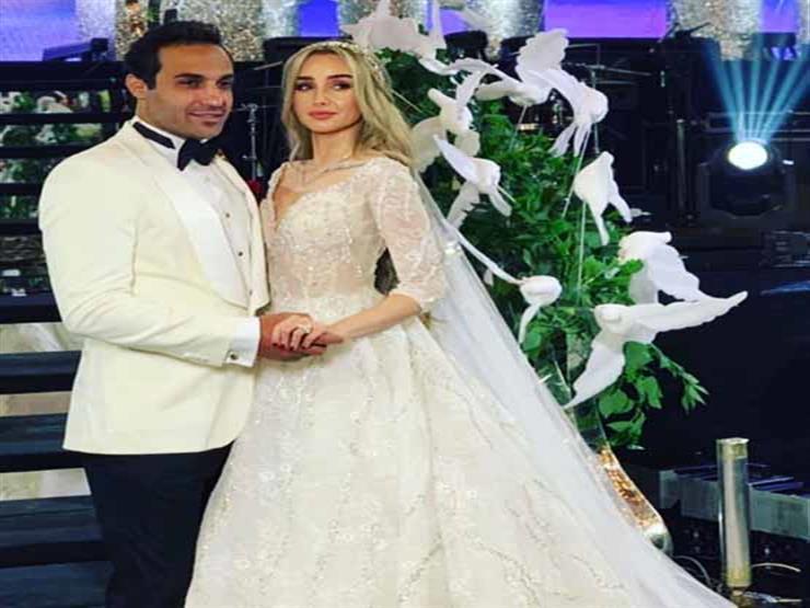 هكذا سخر أحمد فهمي من صور حفل زفافه
