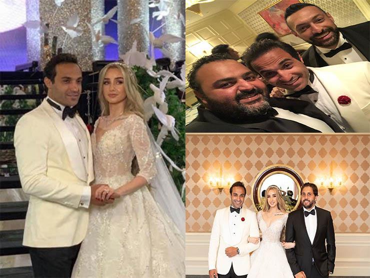 """هذا ما قاله هشام ماجد وشيكو لـ""""أحمد فهمي"""" بمناسبة زفافه"""