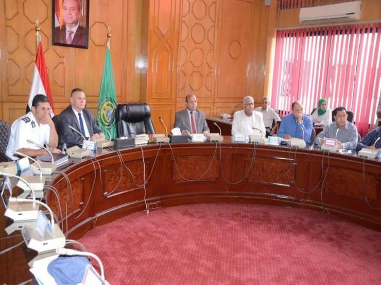 ديوان محافظة الإسماعيلية يناقش خطة الأزمات والكوارث