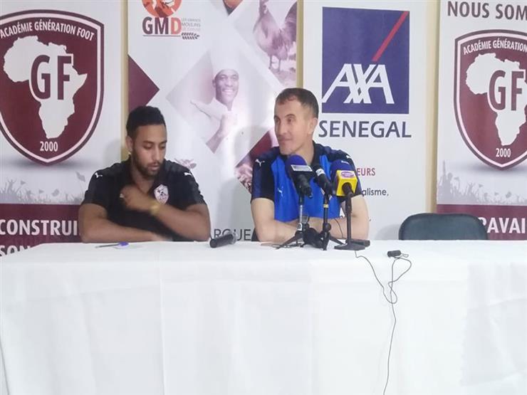 """ميتشو: """"مسئولية تمثيلي لمصر"""" أكبر من ضغوط البداية مع الزمالك في دوري أبطال أفريقيا"""