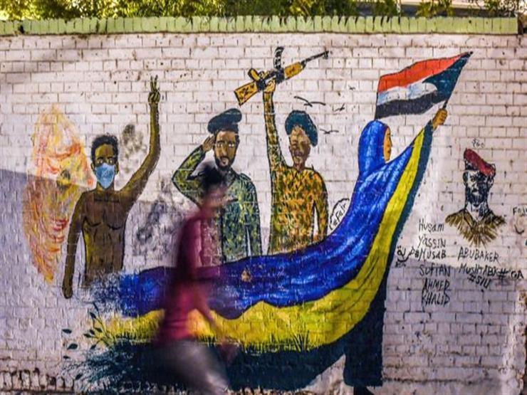 رسومات الجرافيتي أذكت لهيب الثورة في السودان