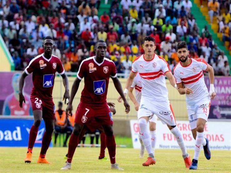 الزمالك يسقط أمام جينيراسيون فوت السنغالي بثنائية في دوري الأبطال