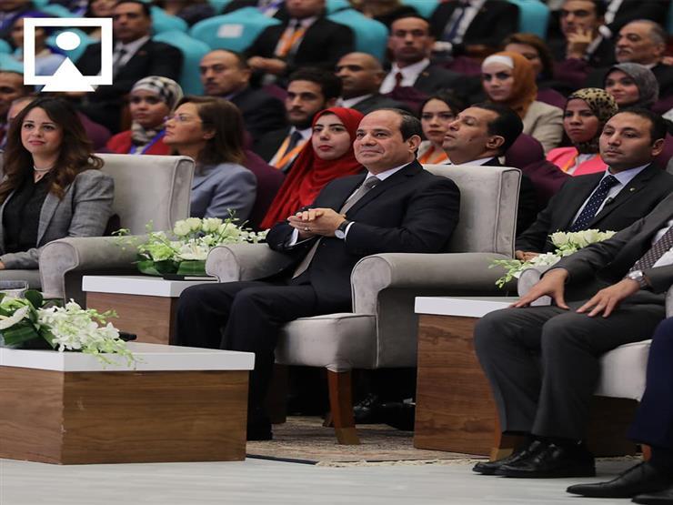 """ السيسي: """"مصر لو راحت المنطقة كلها هتروح"""""""